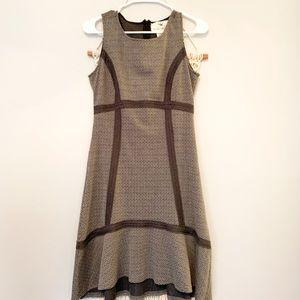 "Anthropologie ""Tabitha"" Grey Textured Dress"
